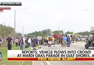 A Dozen Mardi Gras Parade Marchers In Alabama Were Injured When A Car Drove Into A Crowd
