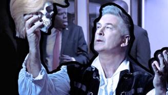 'SNL' Scorecard: Alec Baldwin Took Trump To The People's Court