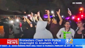 Dozens Of Anaheim Protesters Were Arrested After An Off-Duty Cop Fired A Gun During An Altercation With Teens