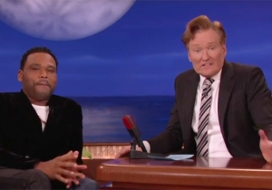 Anthony Anderson Shocks Conan By Revealing A Bit Too Much About His Mother's Sex Lessons