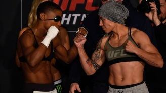 Angela Hill Showed Up To Her UFC Weigh-In In Full 'Street Fighter' Cosplay