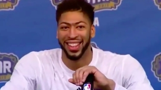 Anthony Davis Dropped An F-Bomb On A Live Mic After The All-Star Game