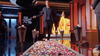Watch Will Arnett Live Every Parent's Worst Nightmare By Walking Barefoot Over A Bed Of Legos