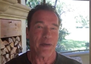 Arnold Schwarzenegger Responds To Donald Trump's Insult With A Prayer Of His Own