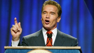 Arnold Schwarzenegger Backtracks On Wanting To 'Smash' Trump's Face Into A Table By Referencing 'Fake News'
