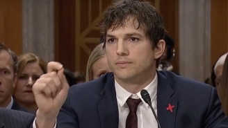 Ashton Kutcher Gave An Impassioned Speech To Congress About Ending Modern Slavery
