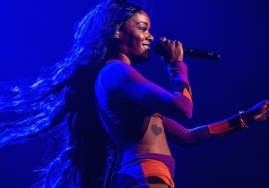 A Judge Issued An Arrest Warrant For Azealia Banks Related To Her Boob-Biting Case