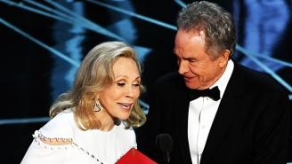'This Is Not A Joke': Warren Beatty And The Academy Awards' Biggest Screw-Up Saved Last Night's Oscars