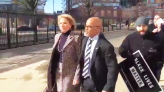 Betsy DeVos Tried To Enter A D.C. School And Fled To A Car After Being Blocked By Protesters