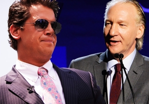 Milo Yiannopoulos' Guest Spot On 'Real Time' May Test Bill Maher's Commitment To Free Speech
