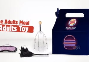 Burger King Is Offering An 'Adult' Meal For Valentine's Day And It Even Comes With A 'Toy' Inside