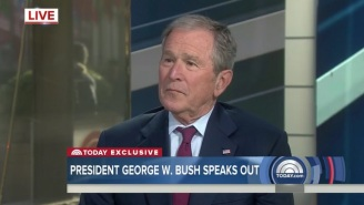 George W. Bush On Trump's Battle With The Press: Media Is 'Indispensable To Democracy'