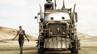 Someone Added Eyes From Pixar's 'Cars' Onto 'Mad Max: Fury Road' Rigs And It's Really Disturbing