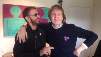 Paul McCartney And Ringo Starr Hit The Studio Together For The First Time In Seven Years