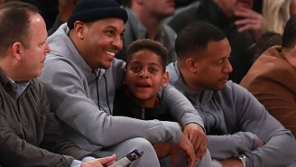 Carmelo Anthony Has A Very Good Reason Why He's Probably Staying With The Knicks