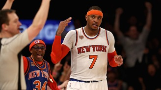 Report: The Knicks Planned To Consider Signing Carmelo Anthony If They Landed Two 'Major Free Agents'