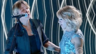 Carrie Underwood And Keith Urban Knock Out A Fiery Performance Of Their Duet 'The Fighter'