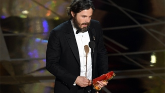Casey Affleck Wins The Oscar For Best Actor For 'Manchester By The Sea'