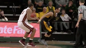 A College Basketball Player's Great Defensive Effort Ended In The Most Unfortunate Way