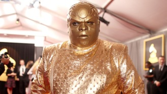 CeeLo Green Insists That Wasn't Him In That Weird Gold Suit At The Grammys