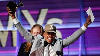 Chance The Rapper's Grammys Speech Was Exactly What He Said It'd Be Weeks Before He Won