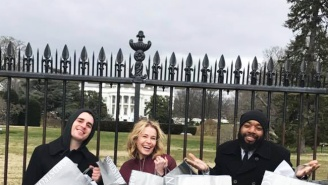 Chelsea Handler Trolled Donald Trump In The Best Way From Right In Front Of The White House