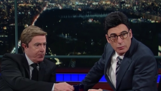 Stephen Colbert And Bob Odenkirk Trade Places In A 'Mr. Show'-Worthy 'Late Show' Sketch