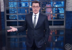 Stephen Colbert Points Out Exactly Where Transgender People Can Still 'Take A Dump' In Trump Tower