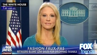 Kellyanne Conway To Fox News Viewers From The White House Briefing Room: 'Go Buy Ivanka's Stuff'