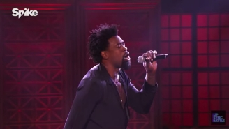 DeAndre Jordan Went On TV To Belt Out 'Kiss From A Rose' In Leather Pants