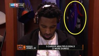 Derrick Jones Jr. Might Pay Tribute To Vince Carter In The Dunk Contest