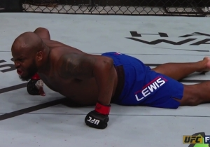 Derrick Lewis Asked 'Where Ronda Rousey Fine A** At' After Knocking Out Her Boyfriend