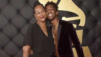 Desiigner Brought His Mom As His Date For His First-Ever Grammys