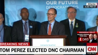 Tom Perez Is Elected The DNC Chair And He Names Opponent Rep. Keith Ellison As Deputy Chair