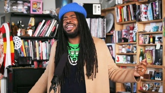 D.R.A.M. Brings His Grammy-Nominated Style And Smile To NPR's Tiny Desk