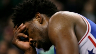 The 'Inside The NBA' Crew Laughed At Joel Embiid For Dancing With A Torn Meniscus