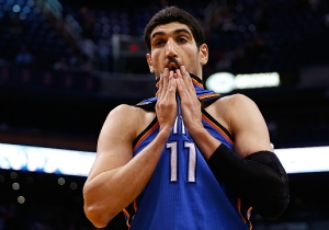 Enes Kanter Asked The Thunder To 'Please Beat The Warriors' After He Was Traded To The Knicks