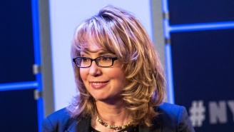 Gabby Giffords To A GOP Lawmaker Who Invoked Her Shooting As A Reason To Avoid Town Halls: 'Have Some Courage'