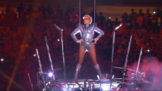 Watch Lady Gaga Kick Off Her Super Bowl Halftime Show By Jumping Off The Top Of The Arena