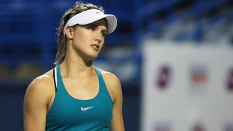Tennis Star Genie Bouchard Now Owes A Random Guy A Date After The Patriots Comeback