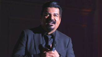 George Lopez Responds To A Heckler With A Rather Violent Throwback