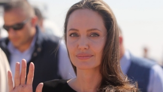 Angelina Jolie Says 'If We Divide People Beyond Our Borders, We Divide Ourselves' In A New Op-Ed