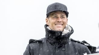 Watch Tom Brady Completely Eat It While Skiing