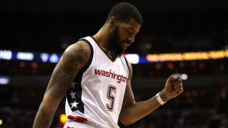 Markieff Morris Said He Put His 'Big Nuts' To Use In The Wizards Win Over The Warriors
