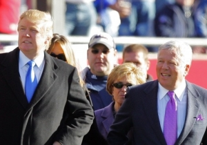 Patriots Fan Donald Trump Once Called Roger Goodell A 'Stupid Guy'