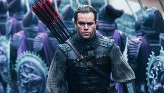 'The Great Wall' Turns A Silly Idea Into A Dazzling Spectacle