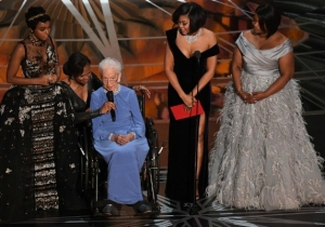 The Stars Of 'Hidden Figures' Took The Stage In One Of The Oscars' Most Important Moments