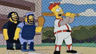 'The Simpsons' Is Getting 'Inducted' Into The Baseball Hall Of Fame