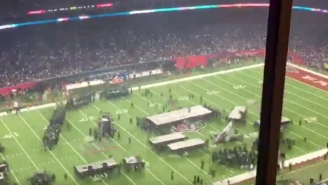 This Time-Lapse Shows The Crazy Coordination That Goes Into The Super Bowl Halftime Show