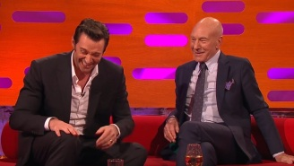 Apparently Patrick Stewart Only Just Discovered He Isn't Circumcised, And Hugh Jackman Can't Handle It